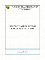 2008 Highway Safety Report